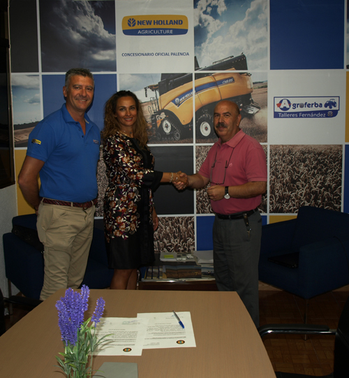 Patrocinio con New Holland