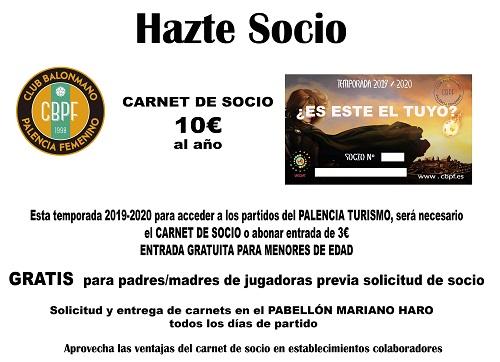 CARTEL SOCIOS