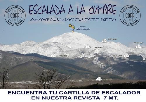 Escalada a la cumbre